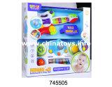 Reeks van het Instrument van het Stuk speelgoed van de baby de Plastic Elektro Vastgestelde Muzikale (745503)