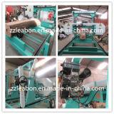Equipo horizontal de madera grande de la serrería de la sierra de cinta del motor diesel del corte