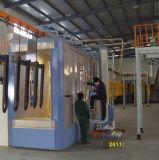 Separador de pó de ciclone para cabine de pulverização