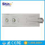 Luz de rua 70W solar integrated com função do sensor de movimento