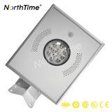 動きセンサー自動LEDの太陽街灯12W 18W 20W 30W 40Wの屋外の太陽照明
