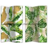 Tela di canapa tropicale di vendita calda del comitato della stampa 3 del fenicottero di ora legale/schermo & divisori di legno