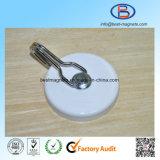 Qualitäts-starker Energien-Magnet-Haken mit weißem Farbanstrich