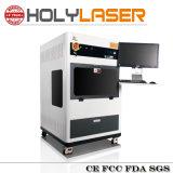 laser de cristal do presente 3D dentro da máquina de gravura