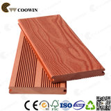 Красный деревянный цвет водоустойчивое Анти--UV напольное WPC