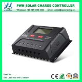 Controlador de Carga 12V / 24V 30A PWM solar com display LCD (QWP-SR-HP2430A)