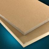Tarjeta impermeable plástica de madera para los muebles