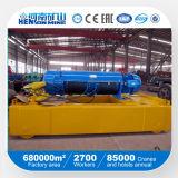 Configuración alta Monorail polipasto de cable eléctrico de acero (CD, MD)