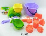 Das spätester Strand-gesetzte Spielzeug, Sommer-im Freienspielzeug (632937)