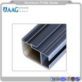 Finestra di profilo dell'espulsione di vendita 6063 della lega di profilo del fornitore di alluminio caldo della Cina e sistema di alluminio personalizzati della parete divisoria e del portello