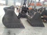 Ze210 1400mm felsige Reinigungs-Schlamm-Wanne für Zoomlion Exkavator-Teile