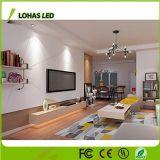 Poupança de energia 6W GU10 de intensidade da luz da lâmpada do farol de LED