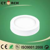 Indicatore luminoso di comitato rotondo di superficie di serie LED di Corch 6W