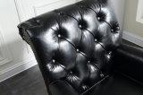 Presidenza di cuoio del sofà dell'unità di elaborazione della mobilia domestica per il salone