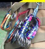 다채로운 패턴 알루미늄 합금 스냅 훅 또는 Carabiner 훅