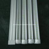 최고 밝은 SMD 2835 8FT 60W T8 두 배 줄 LED 관 빛