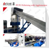 Plastic PP PE film Granulating Machine Pelletizing LINE Pelletizing Machine