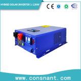 AC - отключение зарядки солнечной поверхности гибридная солнечная энергия инвертор 1-12квт