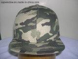 Venda por grosso de tecido Camo Snapback Hat para Design de logotipo personalizado (65050099)
