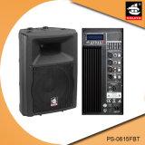 15 duim Bluetooth 5 de Plastic Actieve Spreker van de Band EQ met FM pS-0615fbt