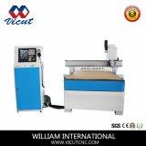 Carta de acrílico Centro CNC da máquina com ajuste automático de mudança de ferramenta