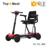 Scooter Handicapped léger de mobilité du chargeur 108 importé par Taiwan avec le circuit de freinage électromagnétique