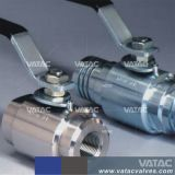 Valvola a sfera d'ottone di galleggiamento del filetto NPT/BSPT di Vatac