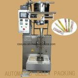 주머니 액체 병 향낭 물 포장 양식 충분한 양 물개 기계 향낭 올리브 기름 포장기