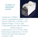 Fonte de Alimentação de mineração para Ant Miner Jap3+/S9/S7/D3/L3+/Max 2200W AC-DC única saída Antminer L3+ para Bitcoin