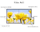 """46 """" 매우 소폭 3.5mm 날의 사면 높은 광도 700nits 3D 접합하거나 균열 기술 영상 벽"""