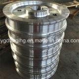 1045高炭素転送されたリングの合金鋼鉄鍛造材のステンレス鋼のフランジ