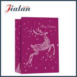 Presentes baratos do Natal da promoção por atacado que embalam os sacos de papel do portador da compra
