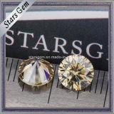 Diamante sintético colorido venda por atacado de Moissanite para anéis acoplados