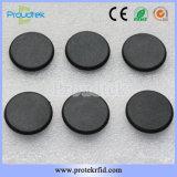 Wäscherei-Hochdruckmarke des Durchmesser-30mm beständige der Münzen-Tk4100 der Marken-RFID