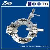 Estrutura de divisão elétrica portátil Od-Mounted/corte dos tubos e máquina de biselamento - SFM0206E