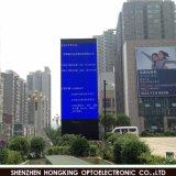 Openlucht P10-2s die het LEIDENE Aanplakbord van de Vertoning adverteren