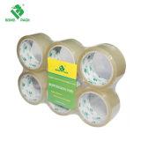 Cinta caliente del embalaje del derretimiento BOPP del grado profesional para el lacre del cartón