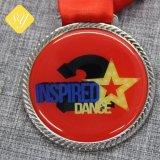 Haute école de métal poli Médaille personnalisé