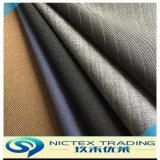 Lycra tissu de laine, de la laine de polyester mélangé Stretch