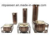 Loção de acrílico quadrado boião de creme de garrafas para embalagem de cosméticos (PPC-ABC-001)