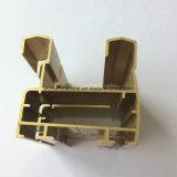 Quadrado, perfil redondo, diferente da extrusão da liga de alumínio para a porta e câmara de ar 08 do indicador