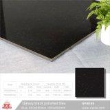 El negro puro Material de construcción baldosa cerámica de porcelana de alta calidad para la decoración (VPI6006, 600x600mm)