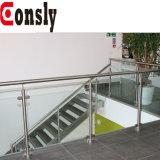 Het hete Traliewerk van het Glas van het Roestvrij staal van het Balkon van de Verkoop Moderne voor Balkon/Terras/Trede/Omheining /Deck