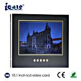 Beste Qualitäts-LCD-videobroschüre 10.1 Zoll