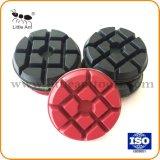 Piso de concreto de 3 polegadas pastilhas de resina para moagem de piso