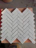 Carreaux de mosaïque de marbre de mur et le plancher