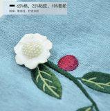 Цветы платья 2 джинсыов вышивки Rose сбывания высоких женщин шкафута горячие