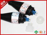Черный пиджак 7.0mm PDLC 2 ядер оптоволоконный кабель FTTA