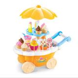DIY fingono l'automobile del giocattolo del gelato del gioco
