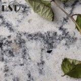 De kunstmatige Mooie Witte en Zwarte Steen van het Kwarts van Aders